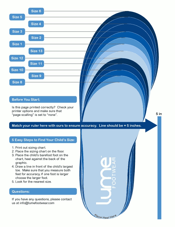 Shoe Size  In Us Sizes